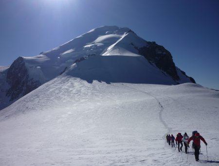 Ascensión Mont Blanc, programa 7 días